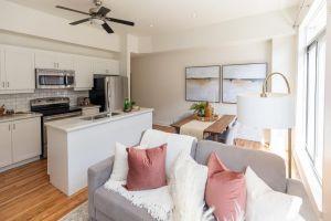 7 Living Room Kitchen